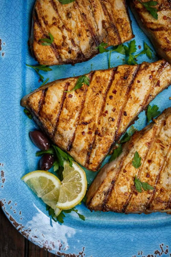 Grilled Swordfish Recipe #grilled #fish #grill #dinner #recipe