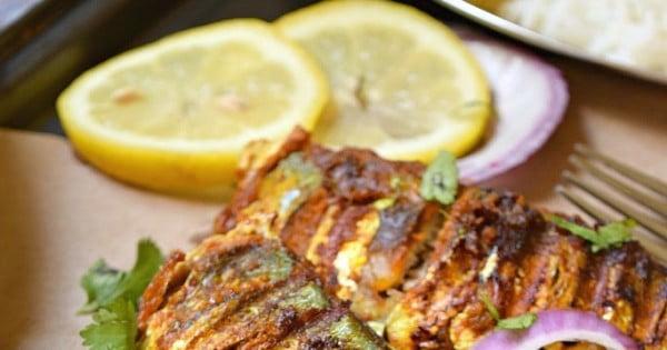 Tandoori Fish #grilled #fish #grill #dinner #recipe