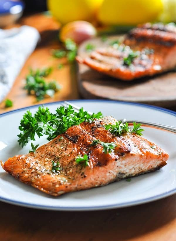 The Perfect 15-Minute Grilled Salmon #grilled #fish #grill #dinner #recipe