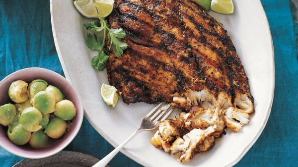 Grilled Fish for Tacos #grilled #fish #grill #dinner #recipe