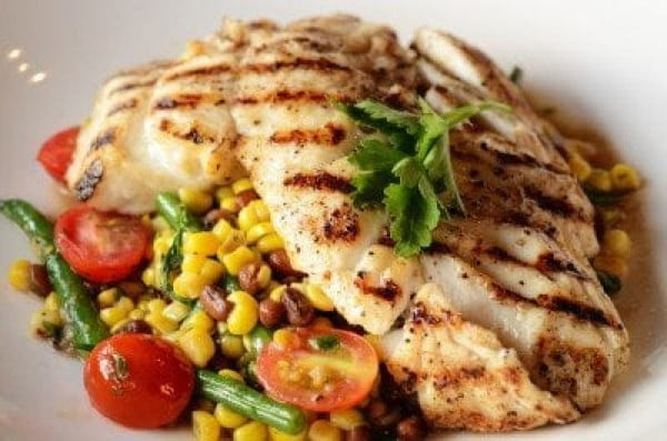 #grilled #fish #grill #dinner #recipe