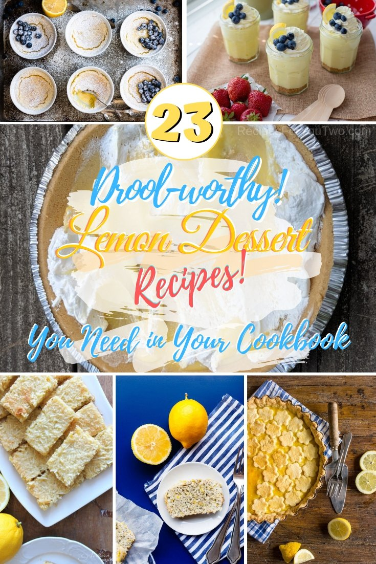 You must includes these lemon desserts in your dessert line! #lemon #dessert #recipe