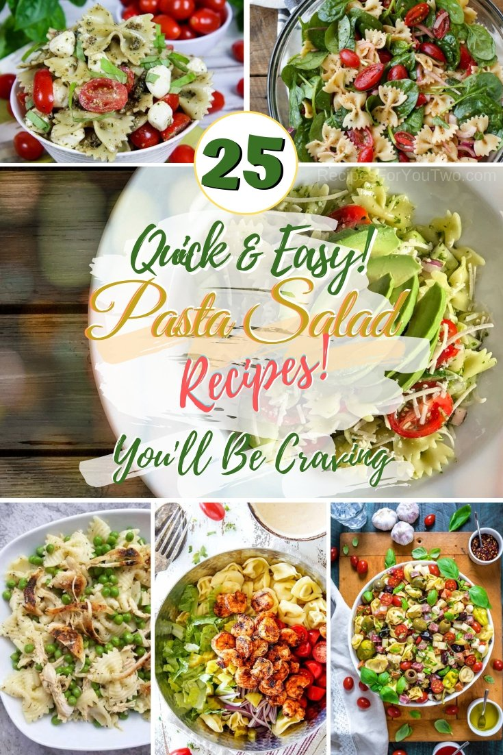 Enjoy your pasta the healthier way with these wonderful pasta salad recipes. These are to crave for! #pasta #salad #healthy #dinner #lunch #recipe