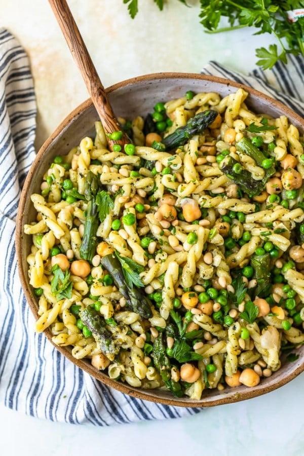 Green Goddess Pasta Salad Recipe #pasta #salad #recipe #lunch #dinner