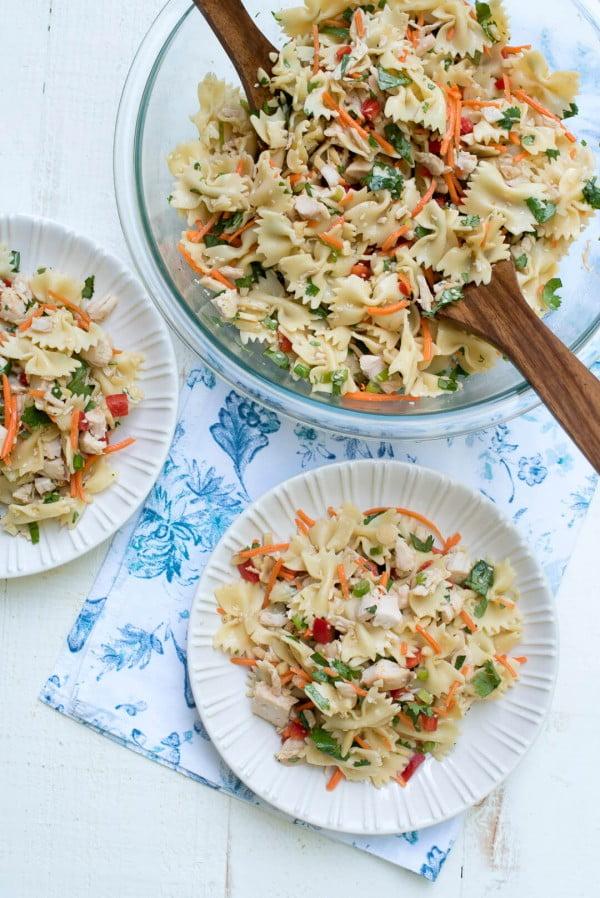 Asian Pasta Salad #pasta #salad #recipe #lunch #dinner