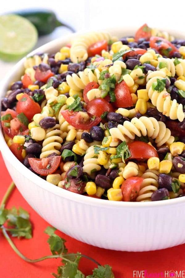 Fiesta Pasta Salad #pasta #salad #recipe #lunch #dinner