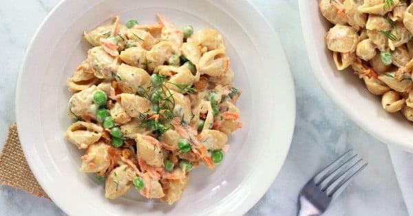 Vegan Ranch Pasta Salad #pasta #salad #recipe #lunch #dinner