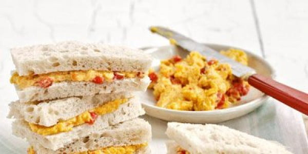 Pimento-Cheese Sandwiches #picnic #sandwich #recipe #snack