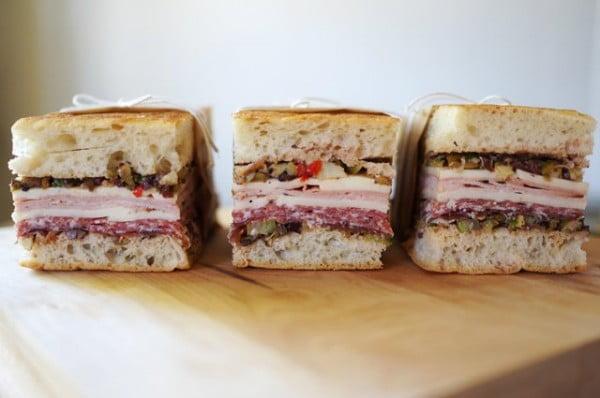 Muffaletta Sandwich #picnic #sandwich #recipe #snack