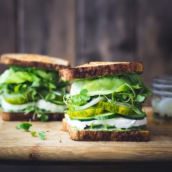 Green Goddess Sandwiches • The Bojon Gourmet #picnic #sandwich #recipe #snack