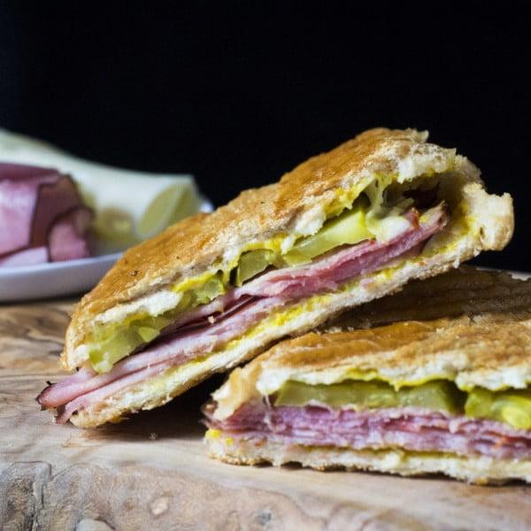 Cuban Sandwich - #picnic #sandwich #recipe #snack