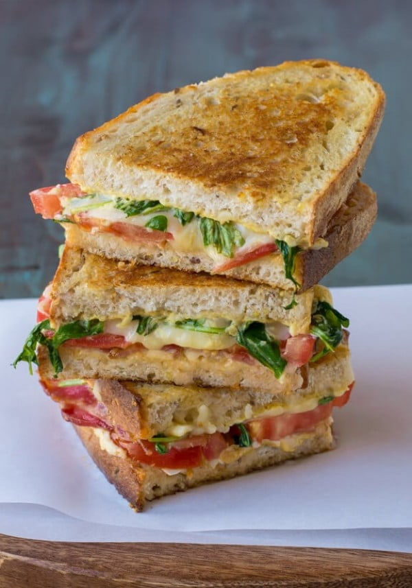BLT Grilled Cheese #picnic #sandwich #recipe #snack