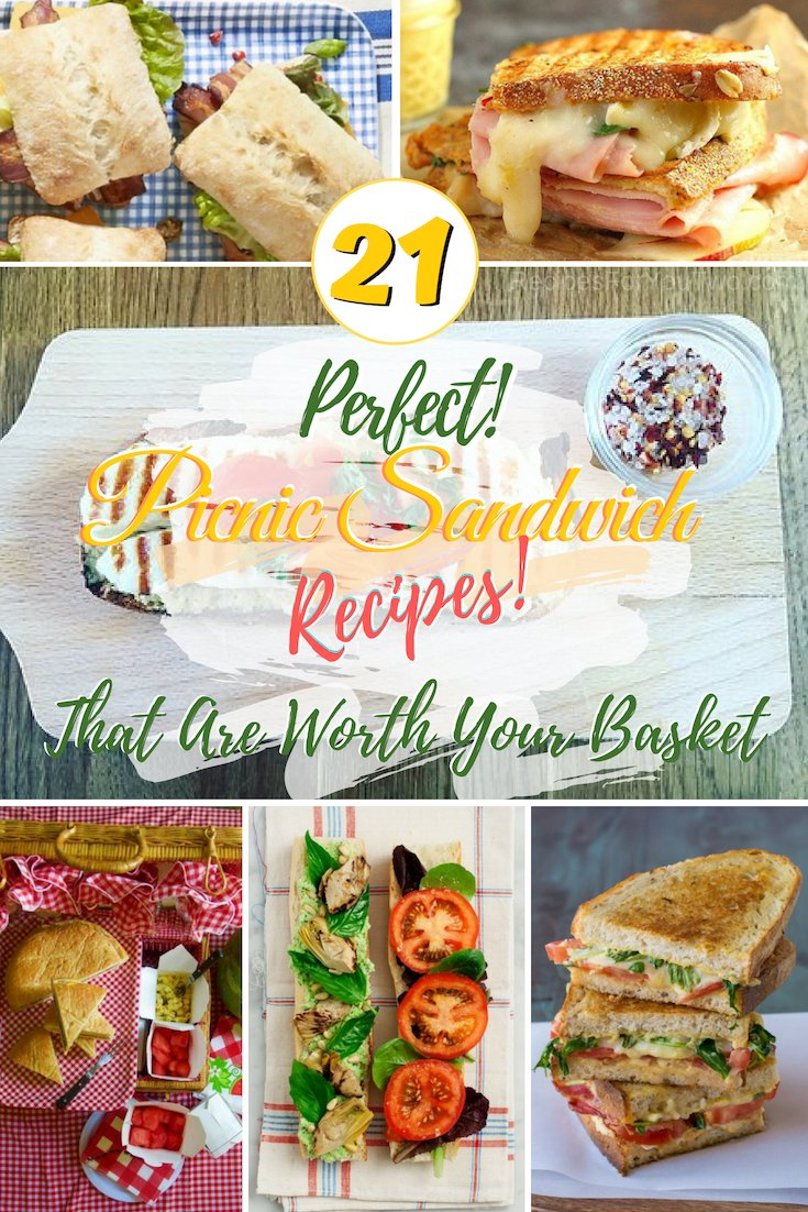 Make the perfect sandwiches for your picnics and BBQs with these recipes! #picnic #sandwich #recipe