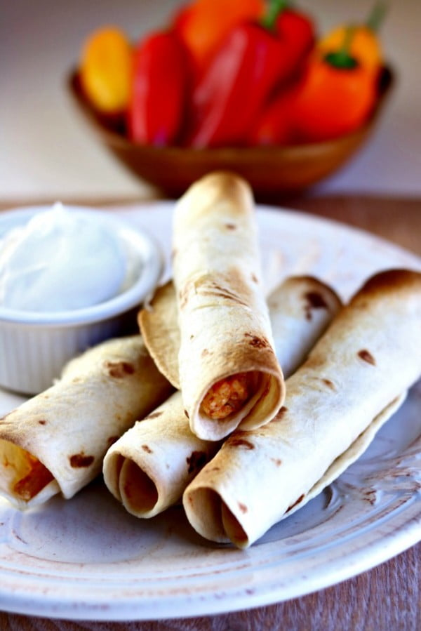 Air Fryer Rotisserie Chicken and Cheese Taquitos Recipe #taquitos #mexican #mexicanfood #snack #lunch #recipe