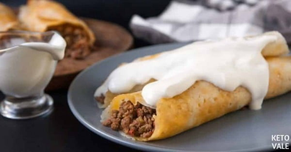 Keto Mexican Beef Crispy Taquitos Low Carb Recipe #taquitos #mexican #mexicanfood #snack #lunch #recipe