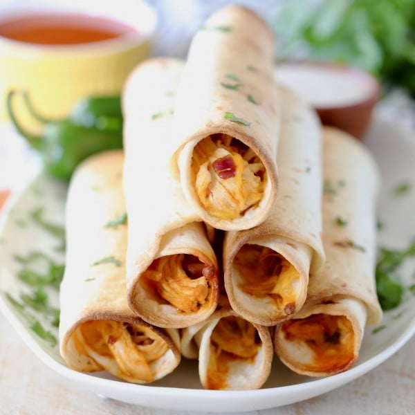 Buffalo Chicken Taquitos #taquitos #mexican #mexicanfood #snack #lunch #recipe