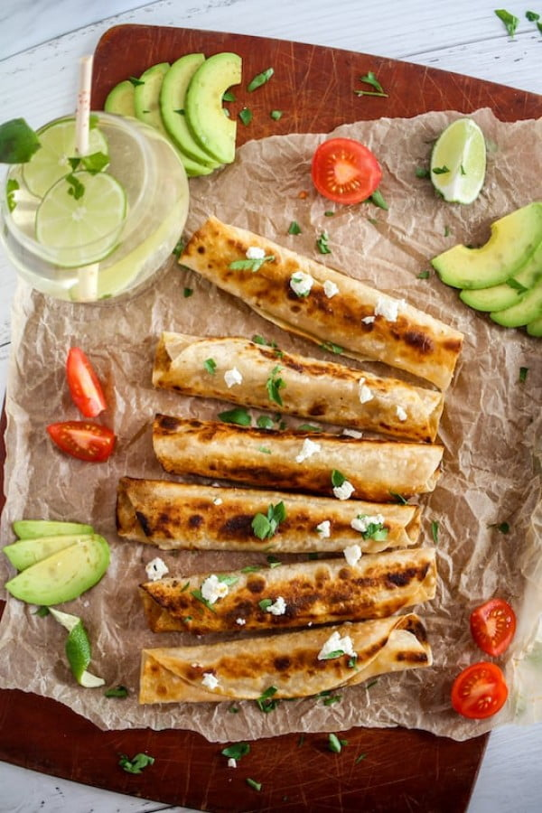 Chipotle chicken taquitos (paleo) : About to Sprout #taquitos #mexican #mexicanfood #snack #lunch #recipe