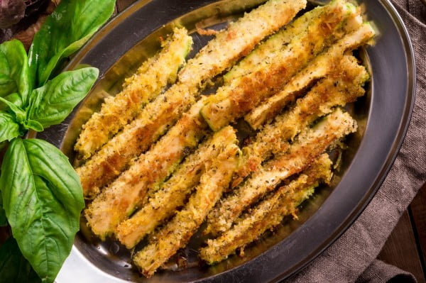 Baked Zucchini Fries #weightwatchers #recipe #dinner #healthy