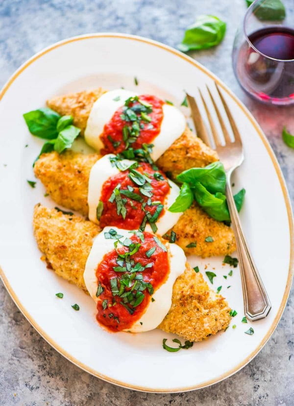 Baked Chicken Parmesan #weightwatchers #recipe #dinner #healthy