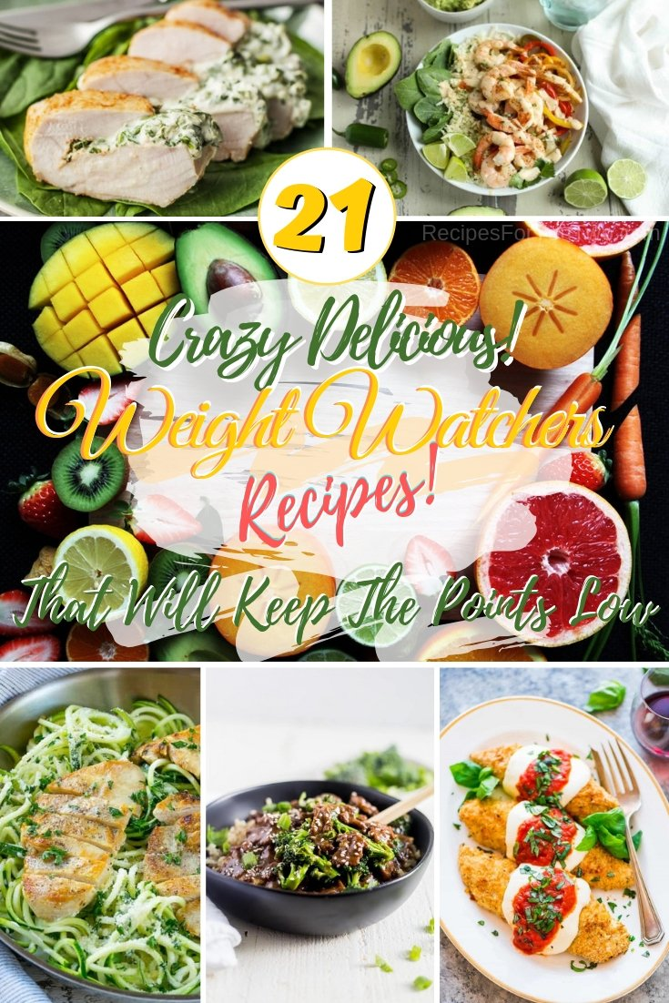Keep your WW points low but enjoy food full of flavor with these amazing recipes! #weightwatchers #wwpoints #recipe #dinner